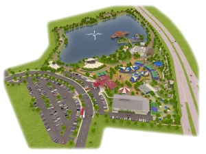 Site Plan for Morgan's Wonderland